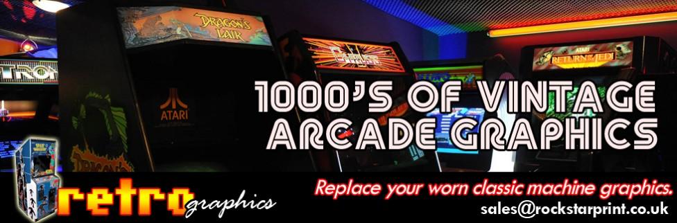 Sidestickers Rockstar Arcade