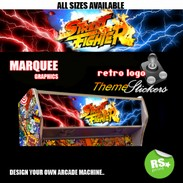 Street Fighter 2 Lightning Marquee