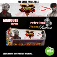 Street Fighter 5 marquee